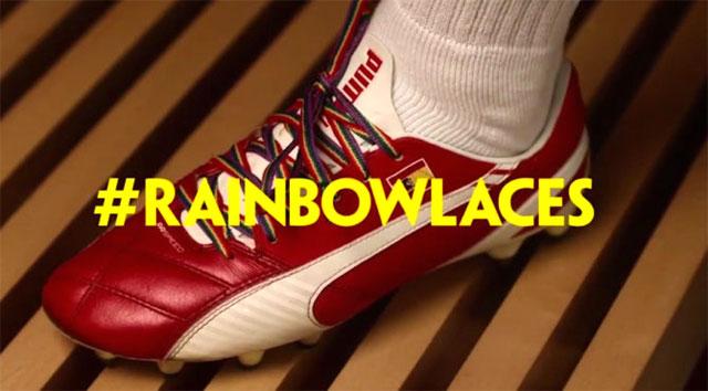 Радужные шнурки Rainbowlaces